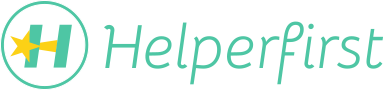 HelperFirst Employment Agency Logo